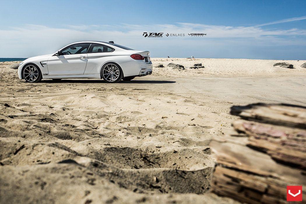 vossen wheels BMW m 4 tuning cars wallpaper