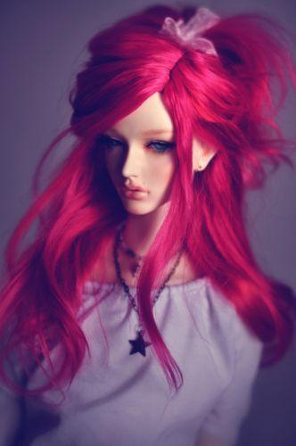 doll pink hair girl toys wallpaper