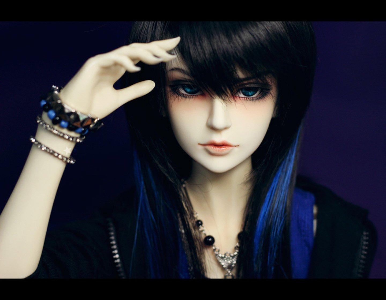 Doll emo blue hair long wallpaper | 1440x1120 | 542689 | WallpaperUP