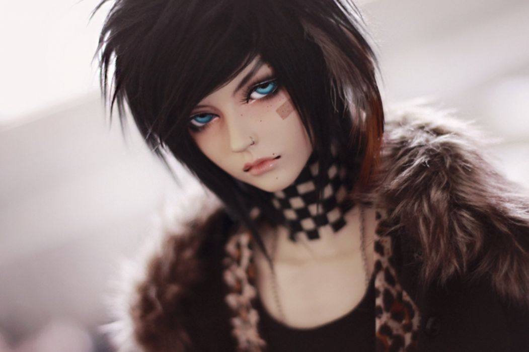 doll boy blue eyes cool wallpaper