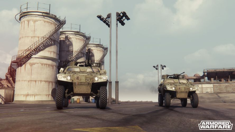 ARMORED-WARFARE military tactical tank action armored warfare rpg shooter weapon wallpaper