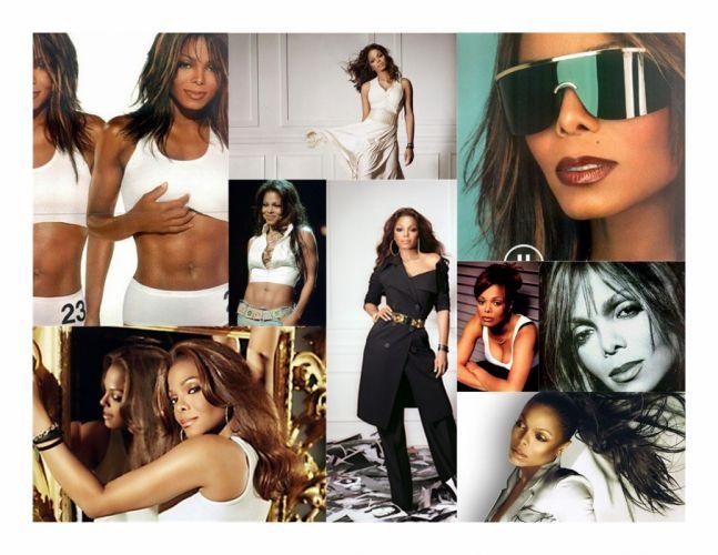 JANET JACKSON r-b pop dance singer babe sexy wallpaper