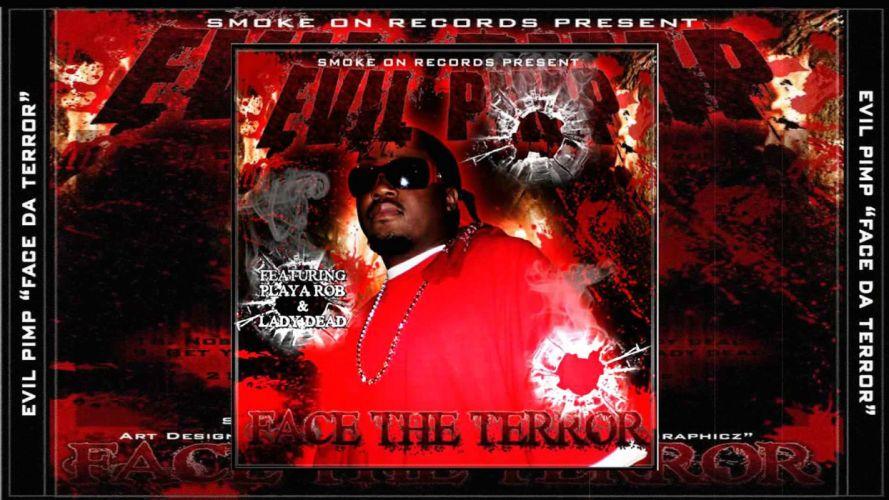 EVIL PIMP horrorcore hip hop underground rap rapper gangsta wallpaper