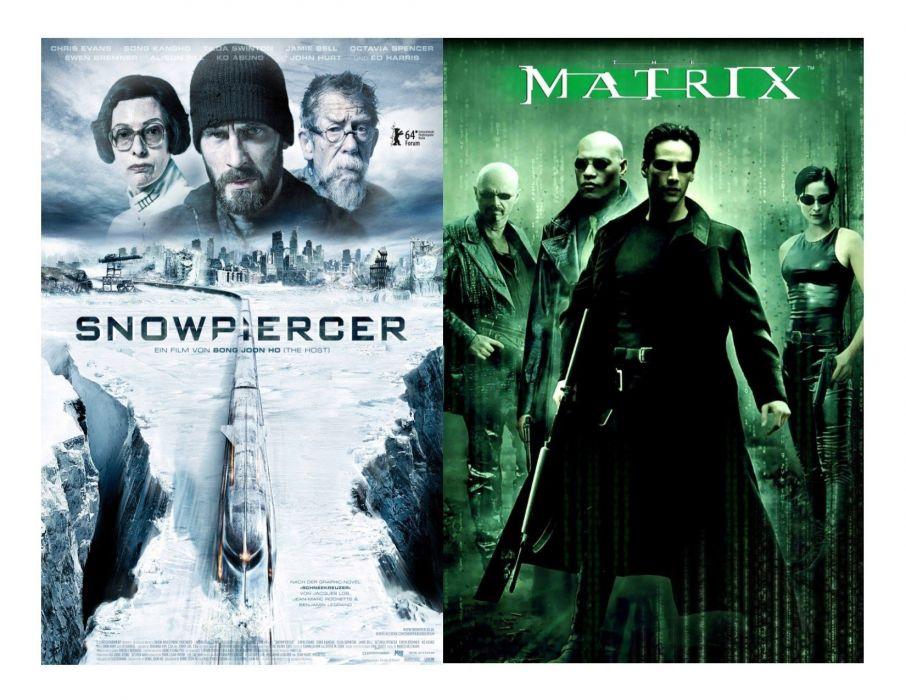 SNOWPIERCER sci-fi action apocalyptic thriller train survival matrix poster wallpaper