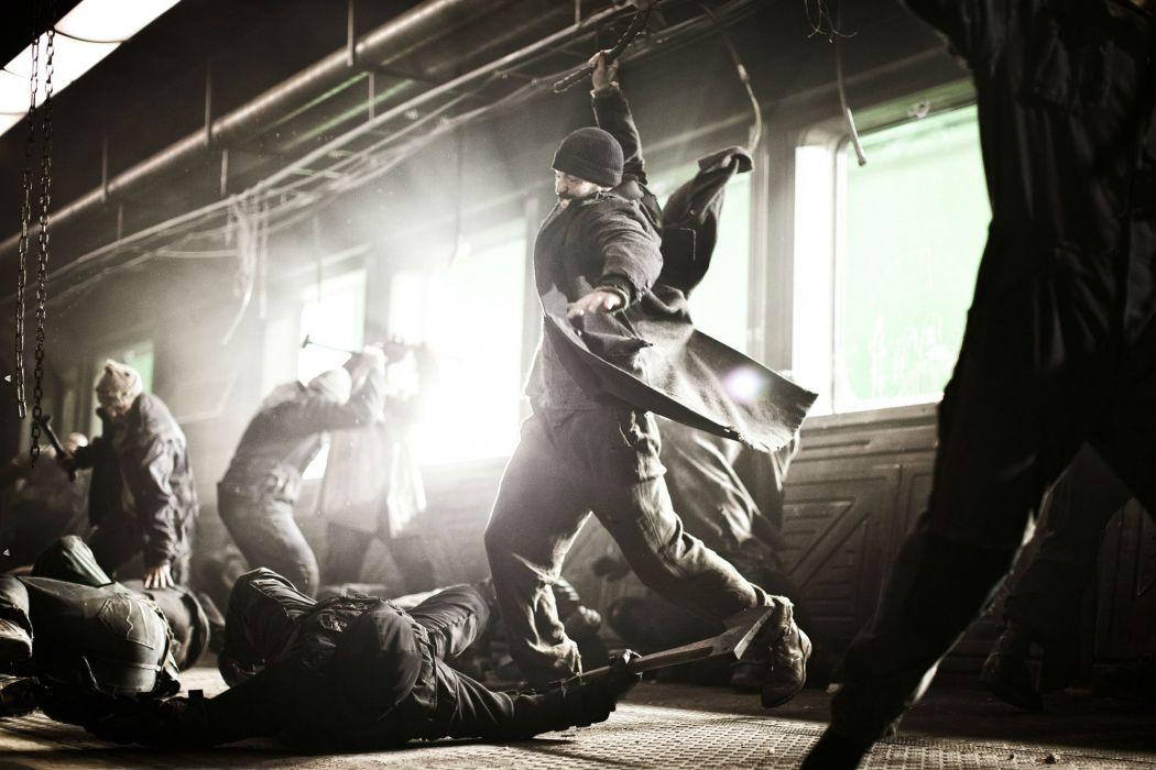 SNOWPIERCER sci-fi action apocalyptic thriller train survival wallpaper