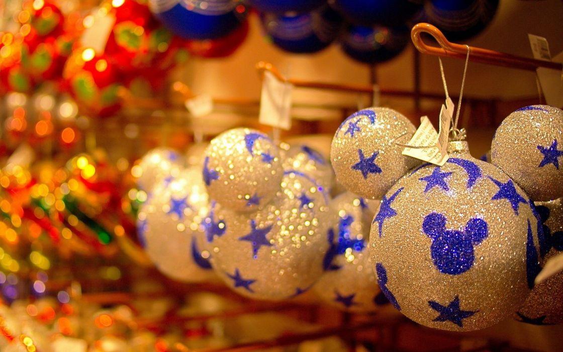 Holiday Christmas Lights Decoration Festive Christmas Tree wallpaper