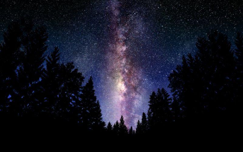 The Milky Way Galaxy Photography - Manipulation wallpaper