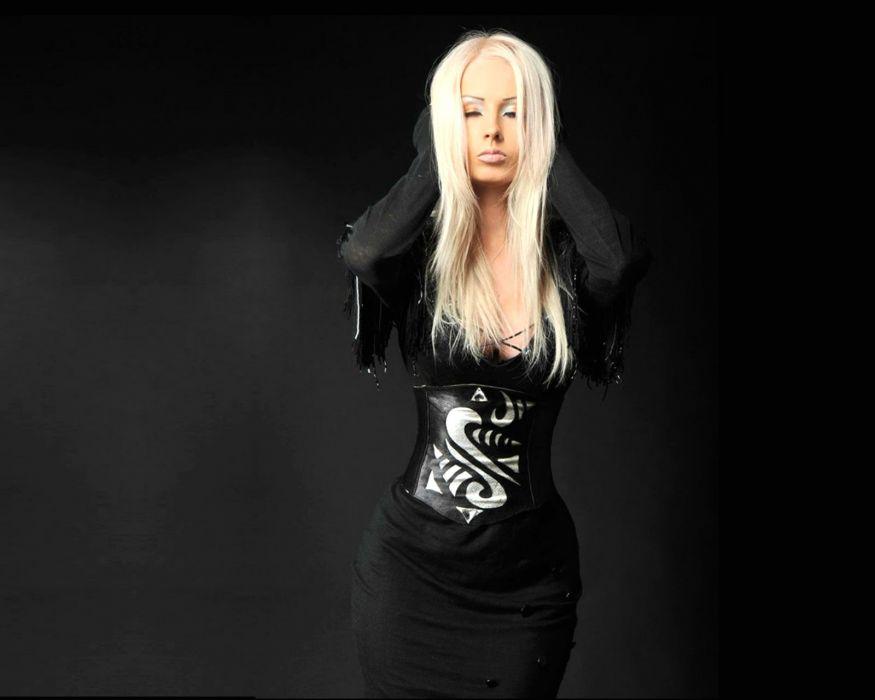 Valeria Lukyanova model barbie blonde cosplay fetish sexy babe wallpaper