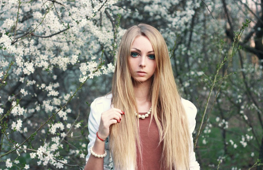 Alina Kovaleskaya barbie model cosplay fetish sexy babe wallpaper