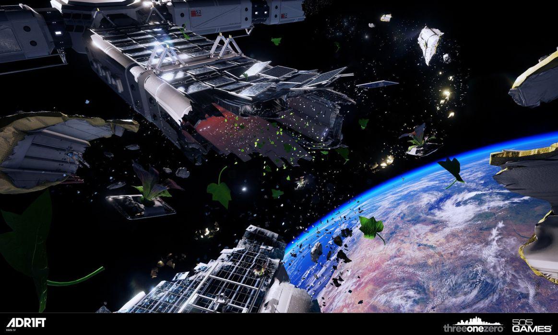 ADR1FT space adventure survival spaceship sci-fi astronaut wallpaper