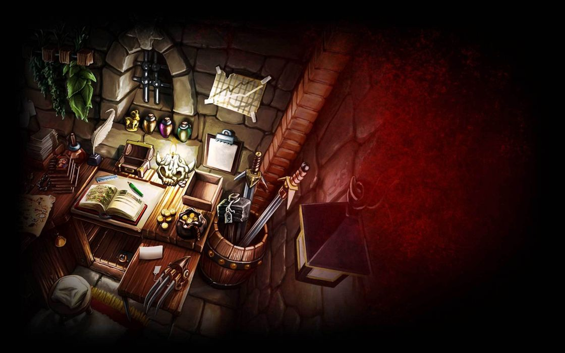 DESKTOP DUNGEONS fantasy puzzle dungeon crawler action rpg wallpaper