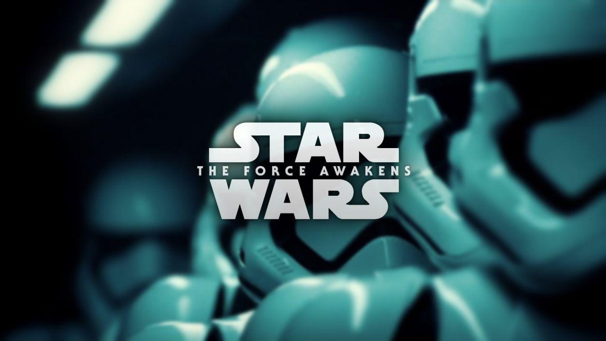 STAR WARS FORCE AWAKENS sci-fi action adventure wallpaper