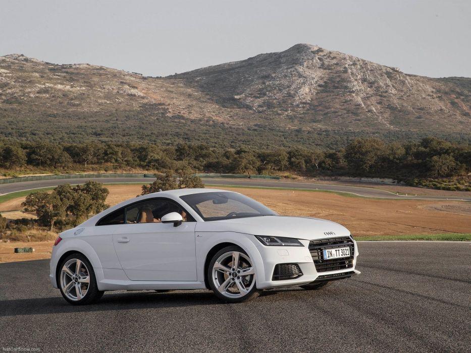 2015 4000x3000 Audi car Coupe Germany white Sport sportcar Supercar tts wallpaper wallpaper