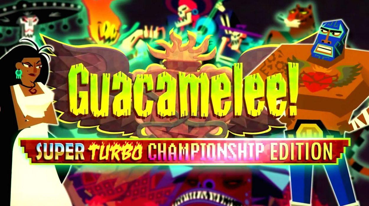 GUACAMELEE action platform fighting superhero hero fantasy wallpaper
