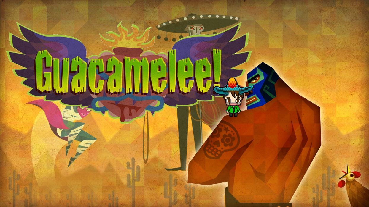 GUACAMELEE action platform fighting superhero hero fantasy wallpaper