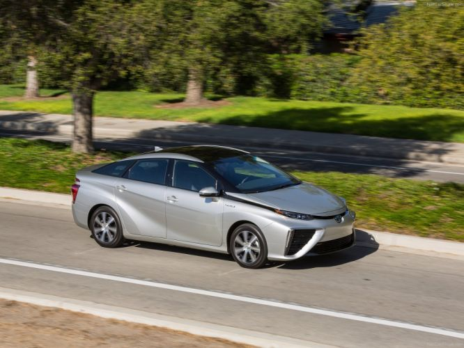 hybrid Toyota Mirai 2016 cars wallpaper