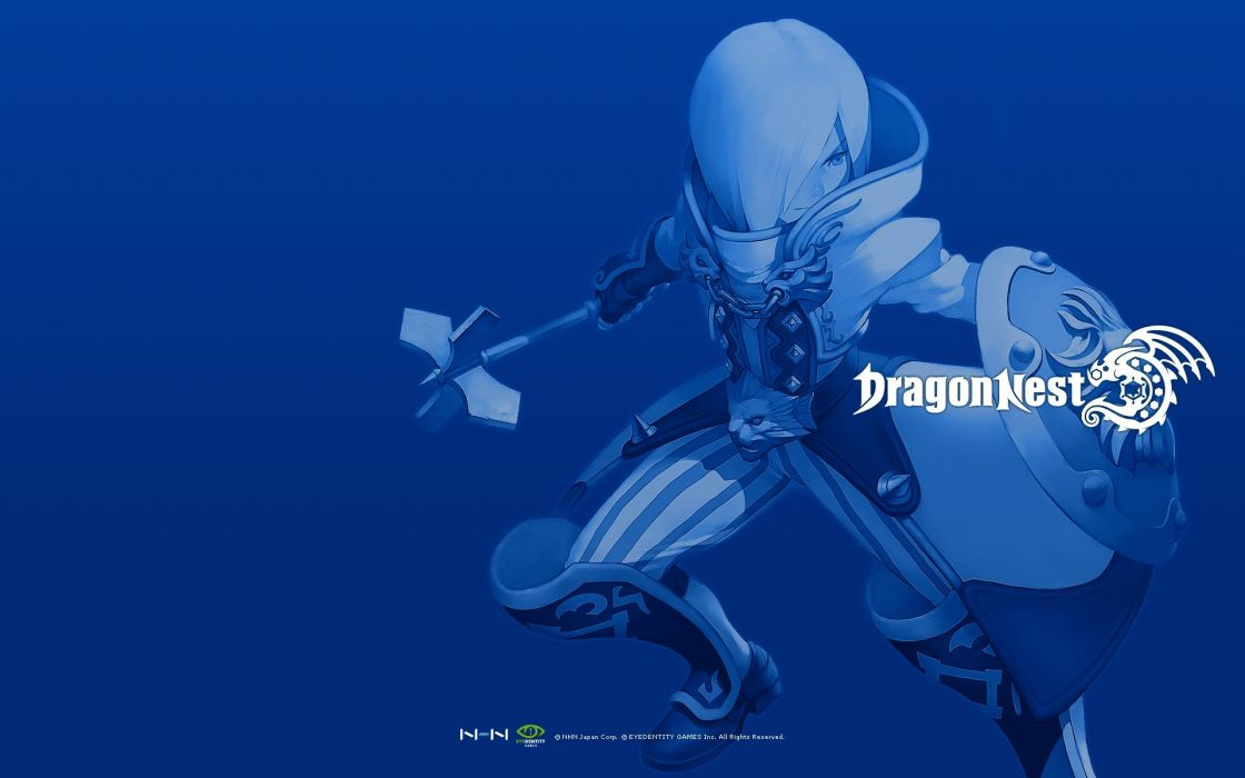 DRAGON NEST mmo rpg anime fighting action adventure fantasy wallpaper
