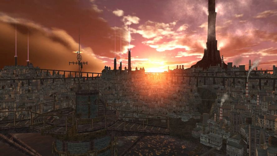 CITY-OF-STEAM industrial mmo rpg fantasy arkadia adventure fighting city steam steampunk sci-fi city wallpaper