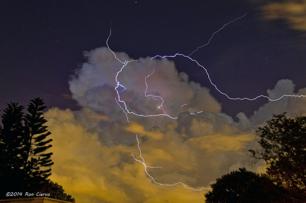 Lightning night light nature storm cities sky landscapes electricity Skyscapes wallpaper