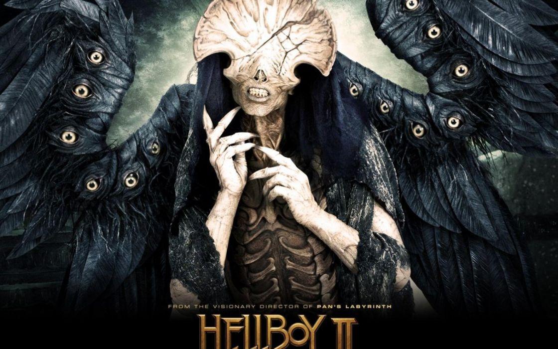 HELLBOY action fantasy comics superhero demon monster sci-fi hell wallpaper