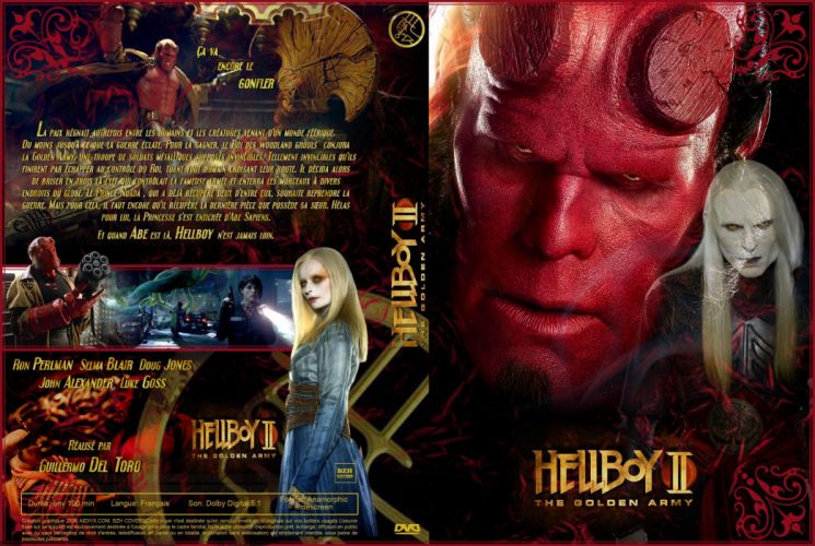 HELLBOY action fantasy comics superhero demon monster sci-fi hell wallpaper