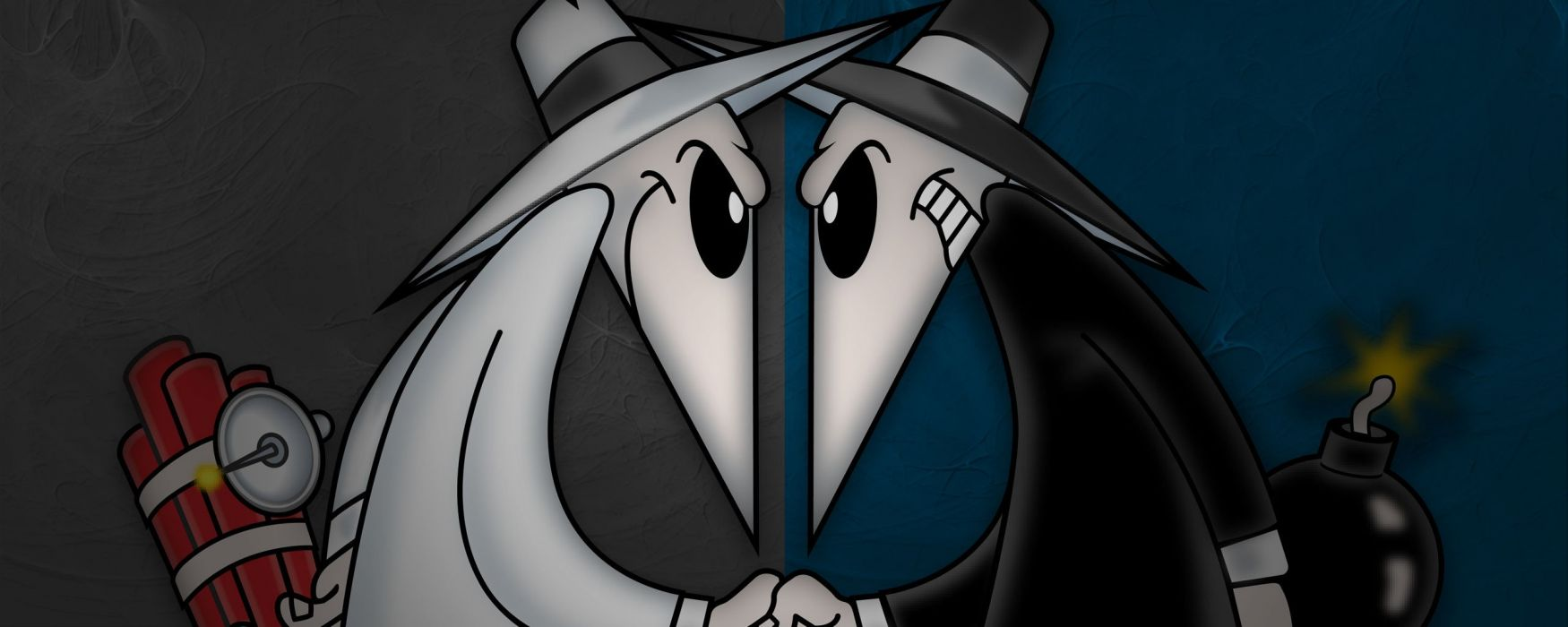 SPY-VS-SPY mad sadic comics crime spy wallpaper