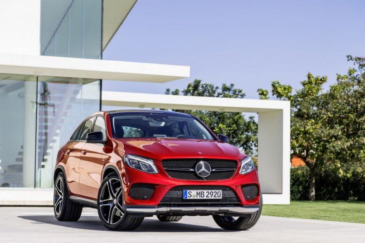 2015 Mercedes GLE cars SUV germany wallpaper