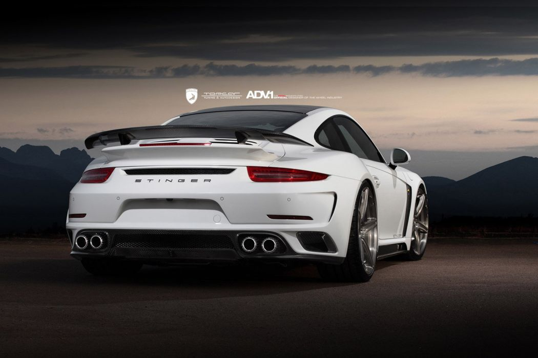 2014 ADV1 PORSCHE 991 TURBO topcar white supercars wheels wallpaper