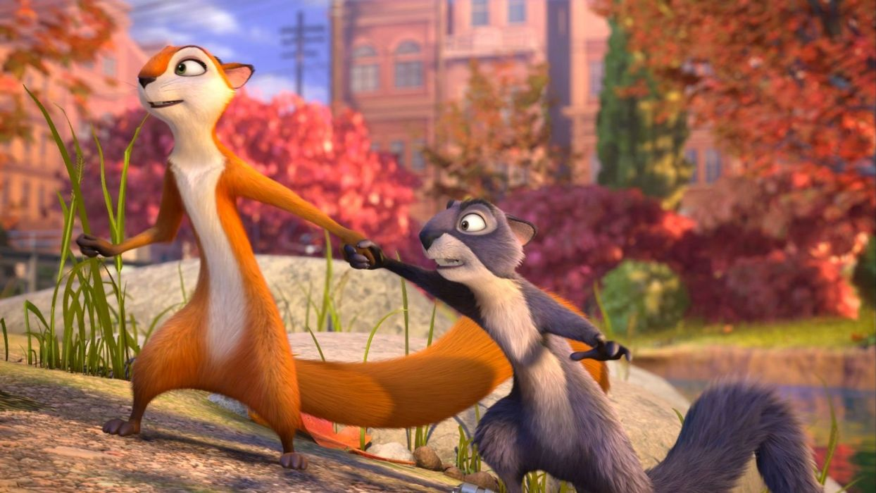 NUT-JOB animation squirrel comedy family nut job wallpaper