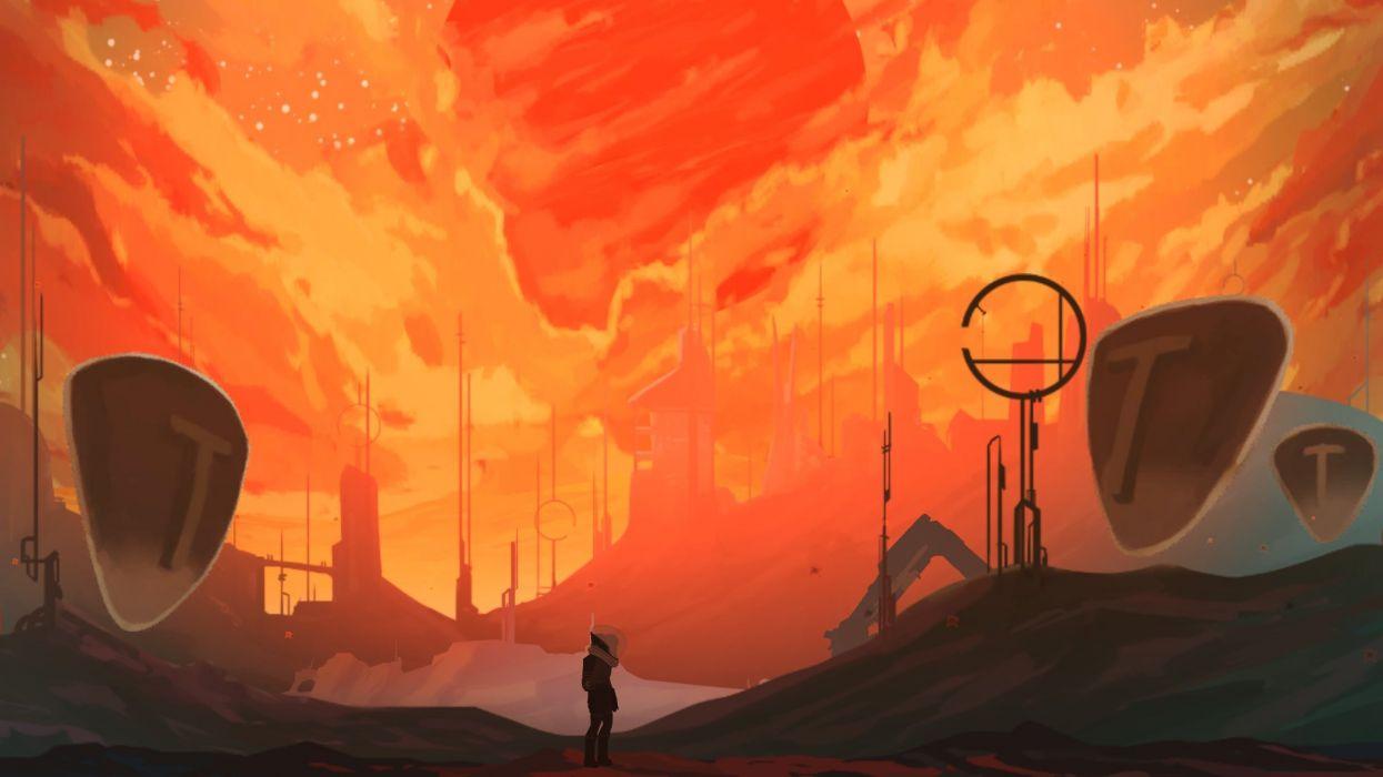 ELEGY-DEAD-WORLD scrolling exploration fantasy adventure elegy dead world wallpaper