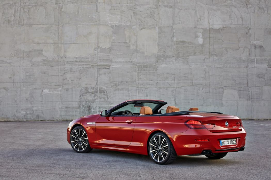2015 BMW 6-Series cabriolet convertible Facelift cars wallpaper