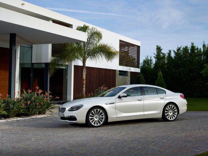 2015 BMW 6-Series Gran Coupe Facelift cars wallpaper