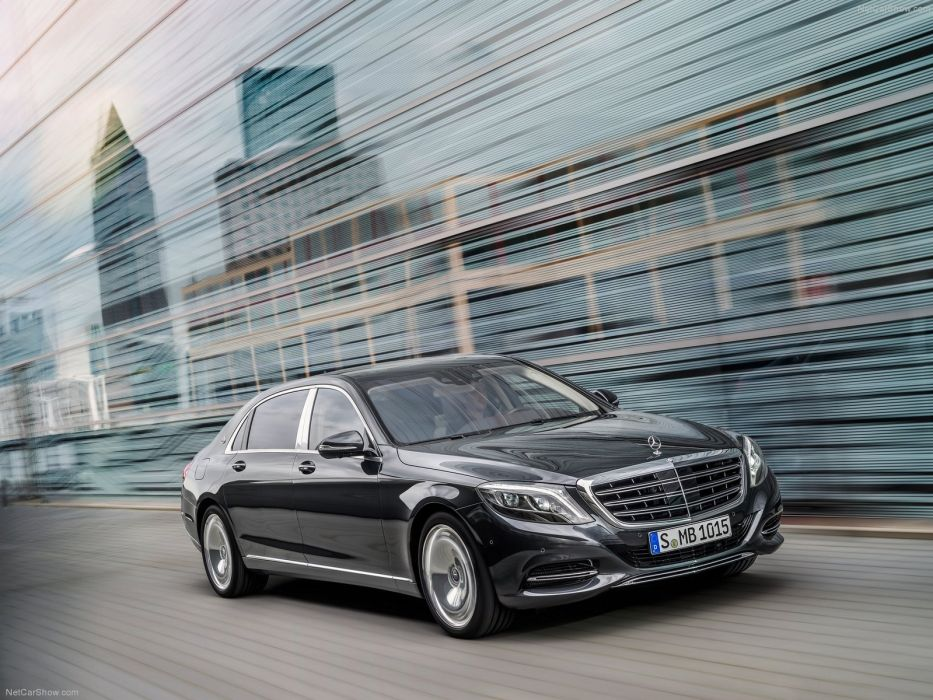 2015 Mercedes Benz S-Class Maybach luxury supercars cars black wallpaper