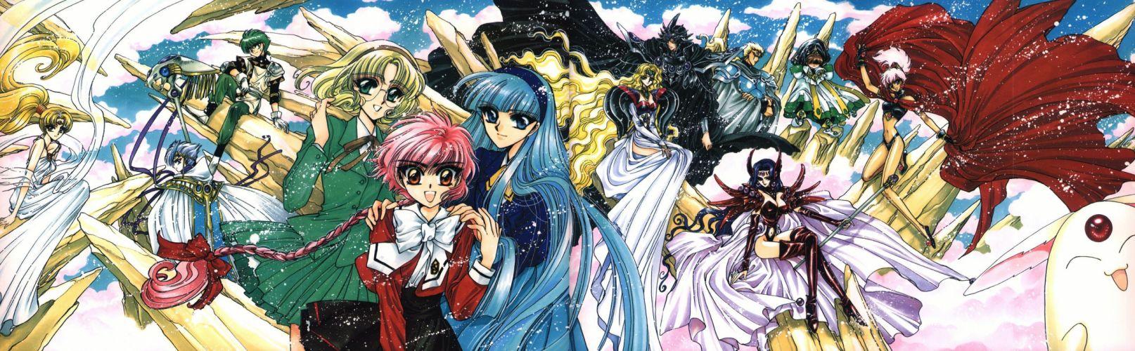 magic knight zagato collection clef illustrations wallpaper