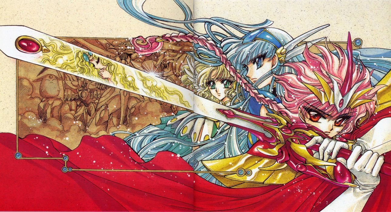 Magic Knight Rayearth Series OVA wallpaper