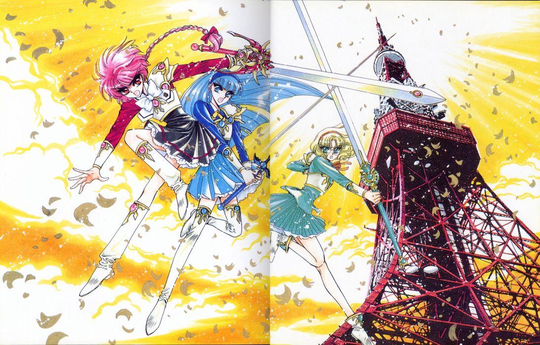 Magic Knight Rayearth Series OVA wallpaper