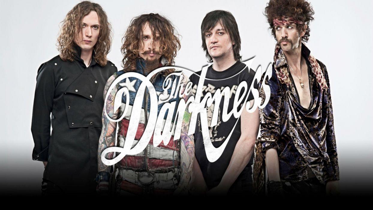 THE-DARKNESS hard rock glam metal heavy darkness wallpaper
