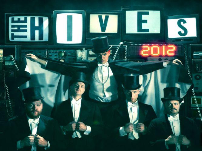 THE-HIVES garage rock hard punk hives wallpaper