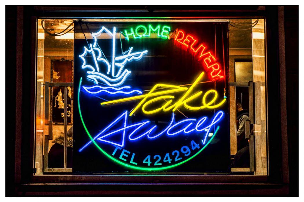 cities Hotel motel Vacancy food restaurant Lights neon restaurant bar market road street casino night color office wallpaper
