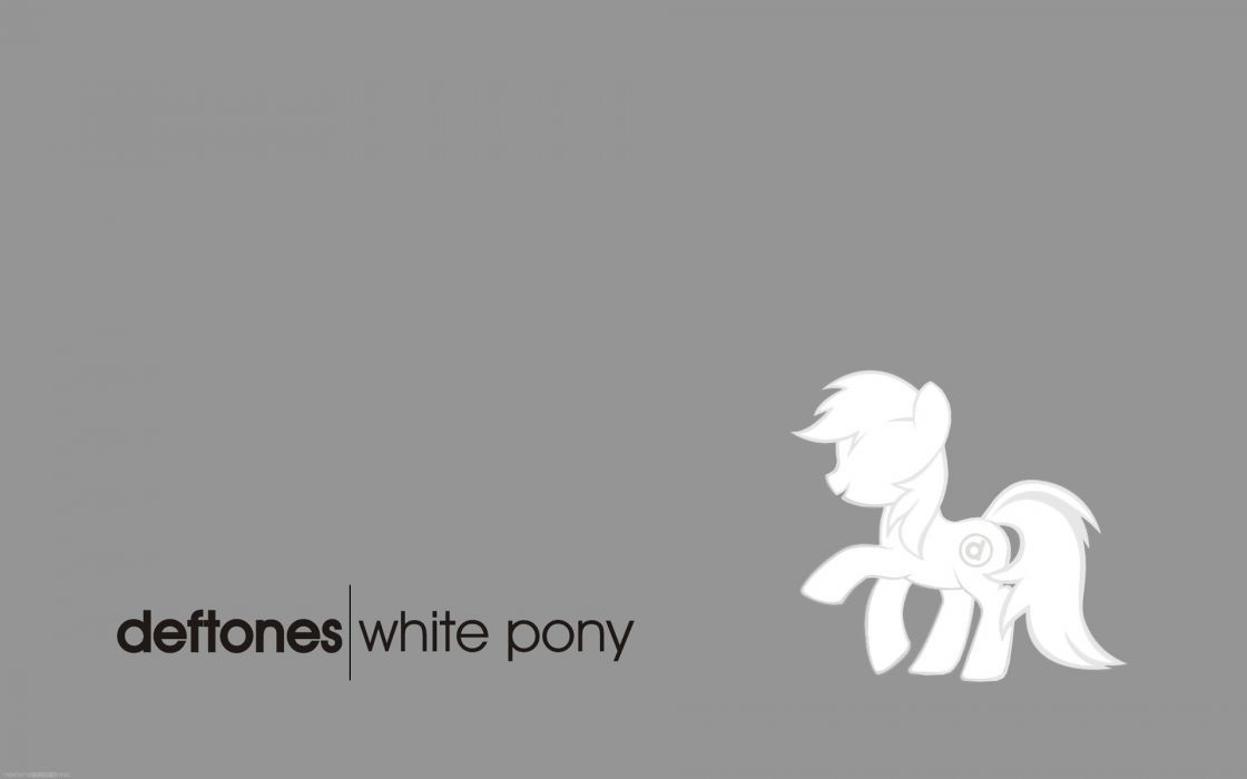 DEFTONES alternative metal experimental rock nu-metal heavy hard little pony horse wallpaper