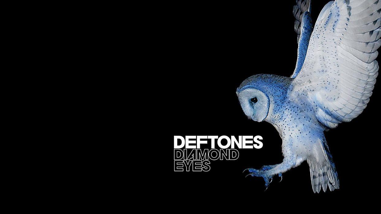 DEFTONES alternative metal experimental rock nu-metal heavy hard owl wallpaper