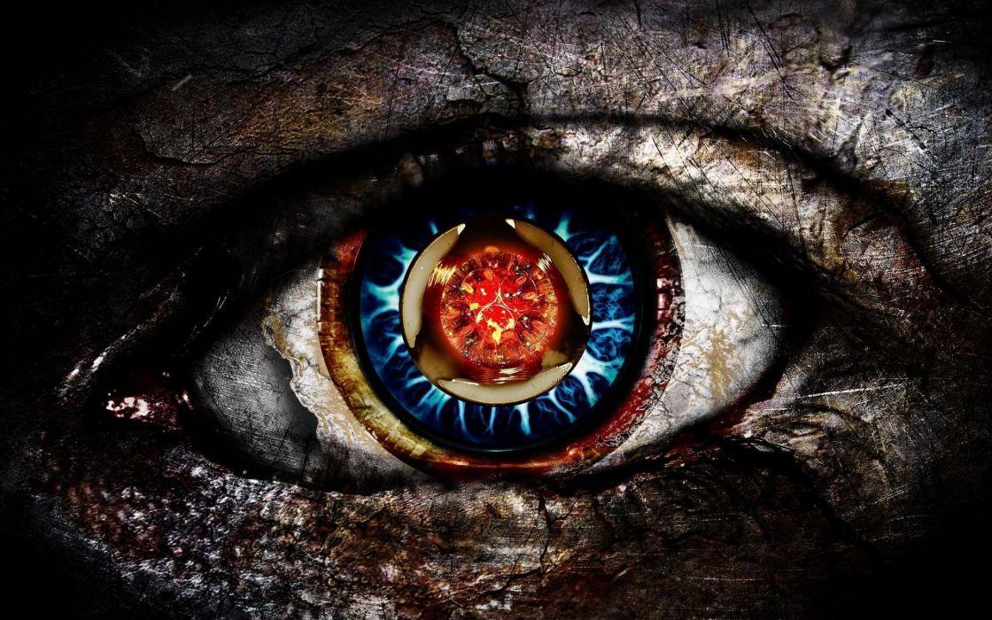 TOOL Alternative Metal Rock Nu Psychedelic Eye Cyborg Sci Fi Steampunk Wallpaper