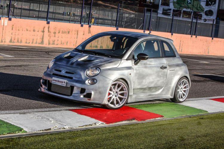 2014 Romeo Ferraris fiat 500 Cinquone cars tuning wallpaper
