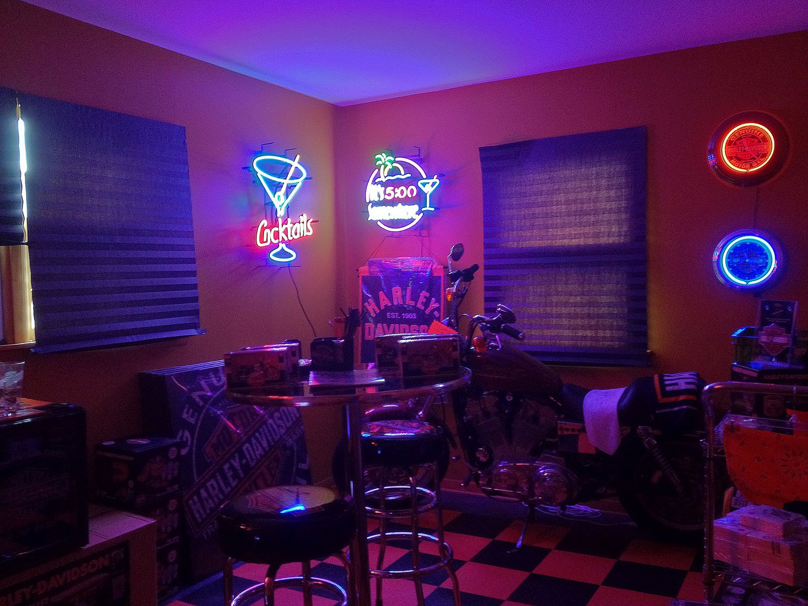 Bar Casino Cities Color Food Hotel Lights Market Motel