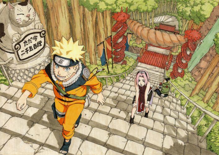 Sakura Naruto illustrations Uzumaki wallpaper