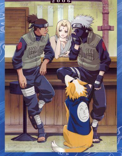 Naruto Pierrot Kakashi Hatake Umino wallpaper