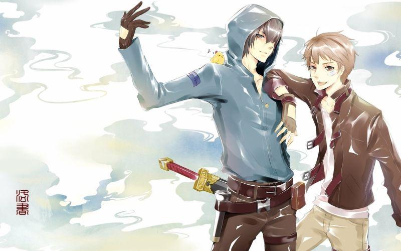 anime boy fantasy wallpaper