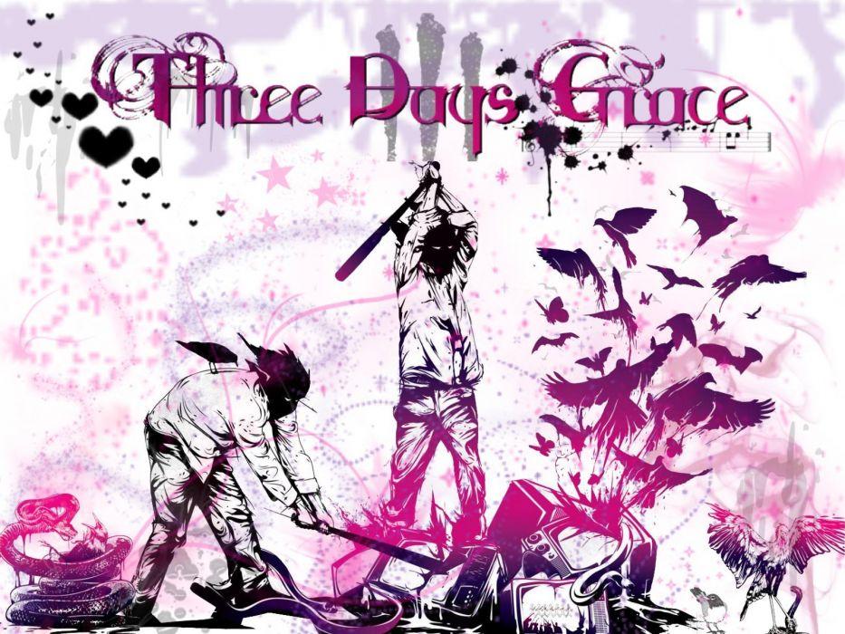 THREE-DAYS-GRACE hard rock alternative nu-metal three days grace wallpaper