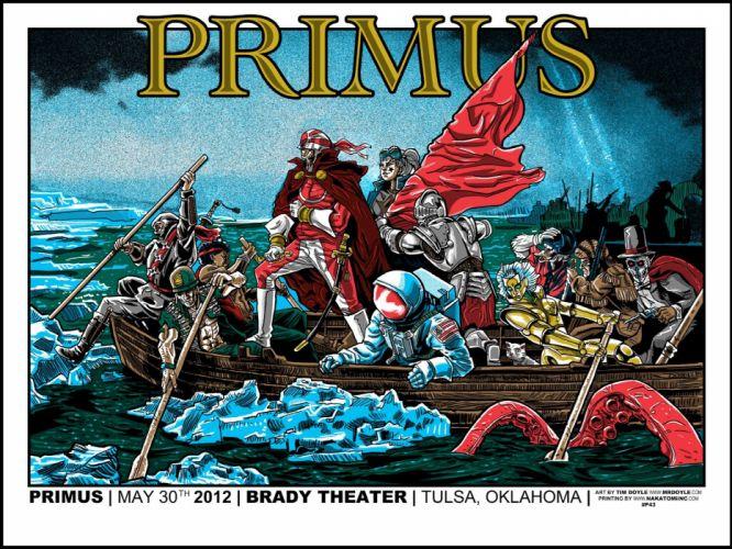 PRIMUS alternative funk metal heavy nu-metal heavy wallpaper