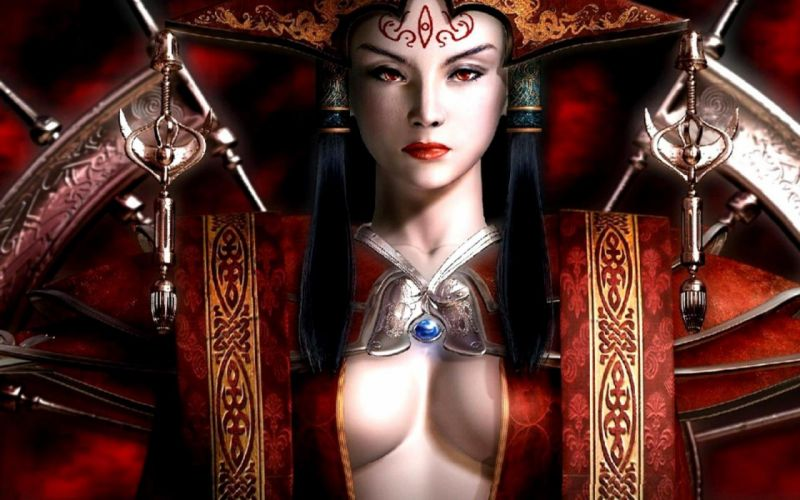 PRINCESS - art 3D fantasy blades girl wallpaper